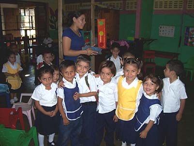 Kids at Los Ositos